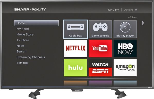 TV 43'' Smart LED HDTV Roku 1