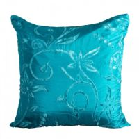 Pillow Silk Turquoise Image 18