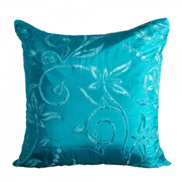 Pillow Silk Turquoise