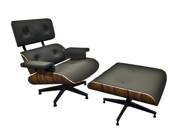 Cove Lounge Chair and Ottoman