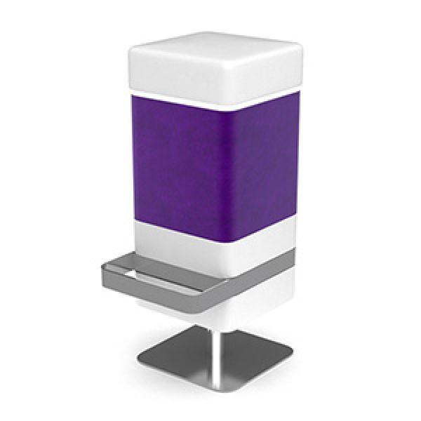 Odyssey Bar Stool Purple