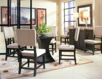 Godiva Round Dining Room with 4 Chairs Image 4