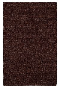 Complete your casual spaces with the Pebbles Chocolate rug. Made of 100% wool, the... Image 20