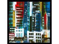 City II Framed Artwork Image 15