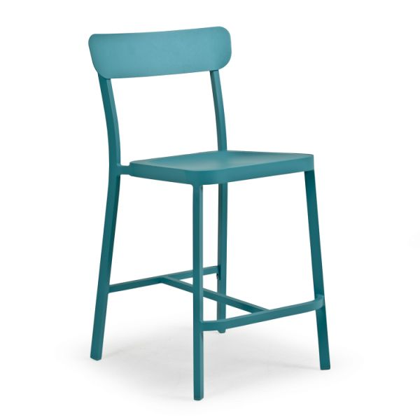 Boardwalk Counter Stool Turquoise