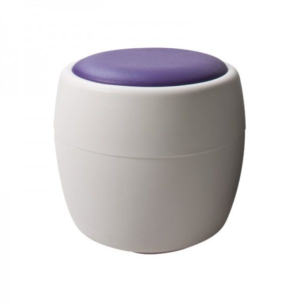 Candy Purple Ottoman