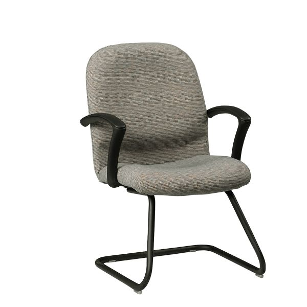ARC Guest Chair Seat height easily adjusts for a variety of tasks and maximum comfort for all bod...
