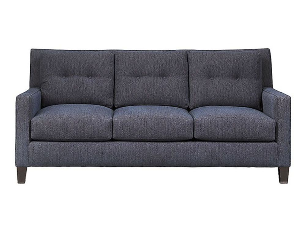 Cort Charlotte Cagny Sofa With A Sophisticated Dark Blue