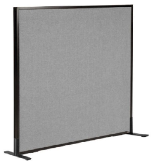 Freestanding Partition with 2 Panel Feet 1