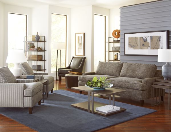 Chelsey Sofa with Henry Accent Chair