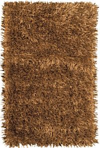 Fettuccine Gold Area Rug