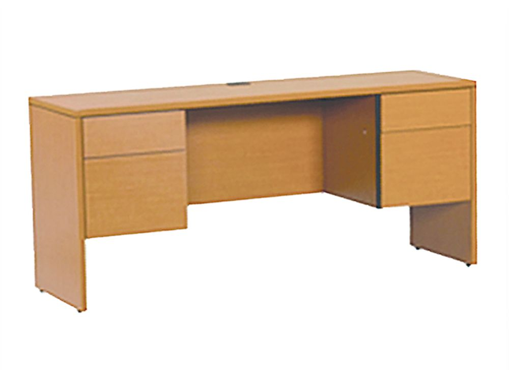 Cort houston halton series kneespace credenza the halton for Cort furniture clearance center