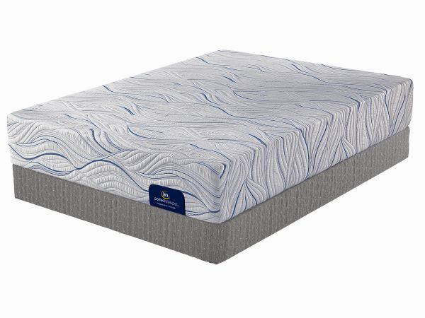 Serta Sudbury Queen Plush Memory Foam Mattress 1