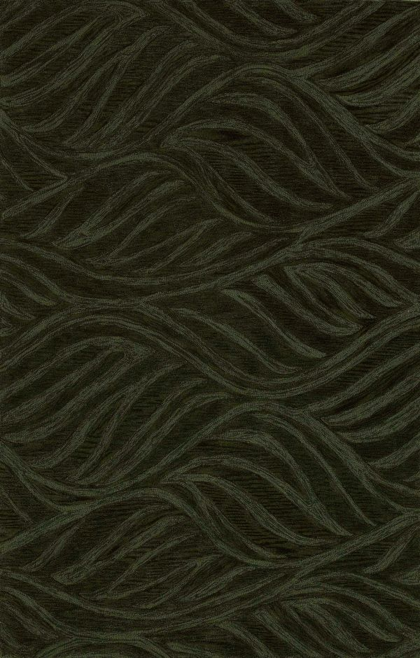 Waves Fern Area Rug