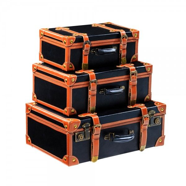 Vintage Suitcases Set 3