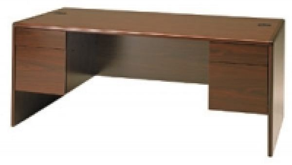 HON Mahogany 10700 Series Desk