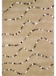 Chelsea Dots Beige and Brown Rug Image 6