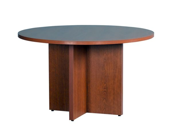 "HON Natural Cherry 10600 Series 48"" Round Conference Table"