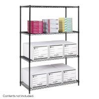 Adjustable Wire Shelves - 4 Shelves Image 1