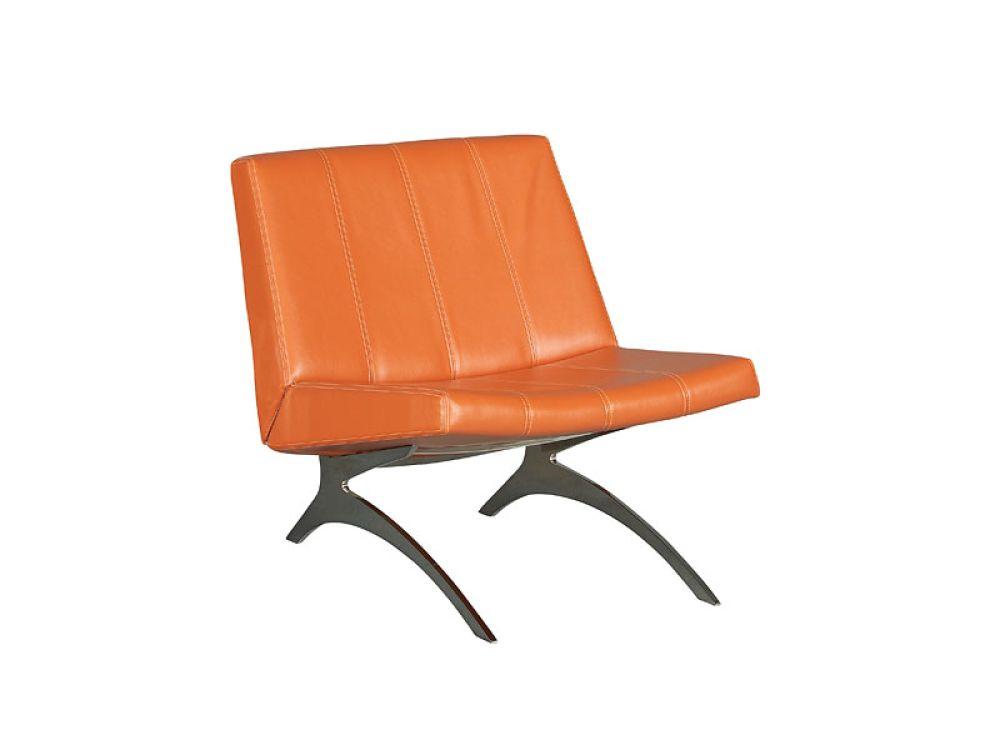 Cort Pompano Beach Accent Chair Ara Orange The Ara Chair