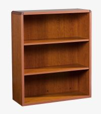 "HON Natural Cherry 10600 Series 43"" Bookcase Image 1"