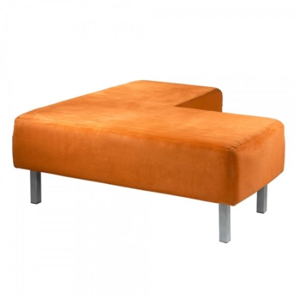 Soho Ottoman Orange