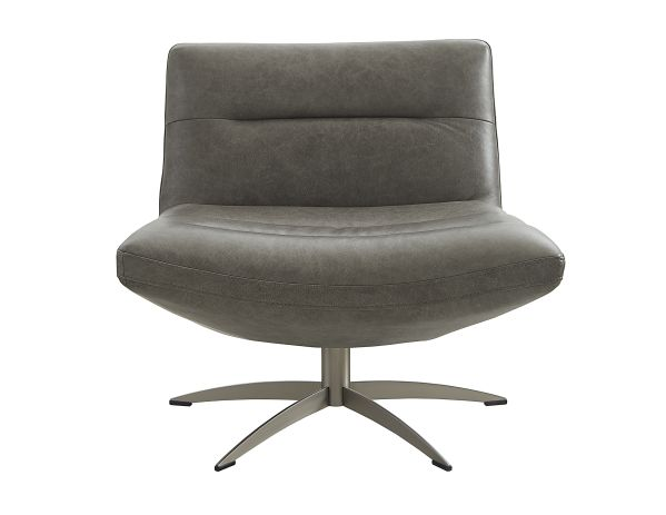 Mila Swivel Accent Chair Leather