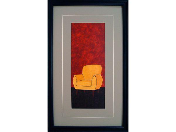Gold Chair Artwork