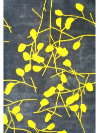 Festival Grey and Yellow Area Rug Image 3