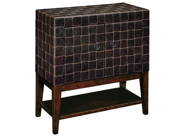 Woven Leather Chest silo