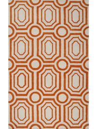 Tangerine Area Rug Image 15