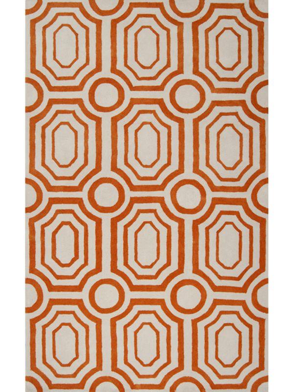Tangerine Area Rug
