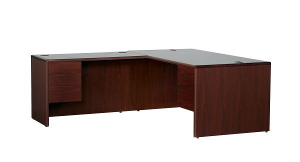 HON Mahogany 10700 Series Executive LH L Desk