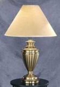 Fluted Urn Table Lamp Image 1