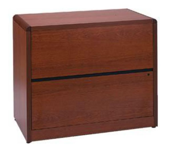 HON Natural Cherry 10600 Series 2 Drawer Lateral File Featured