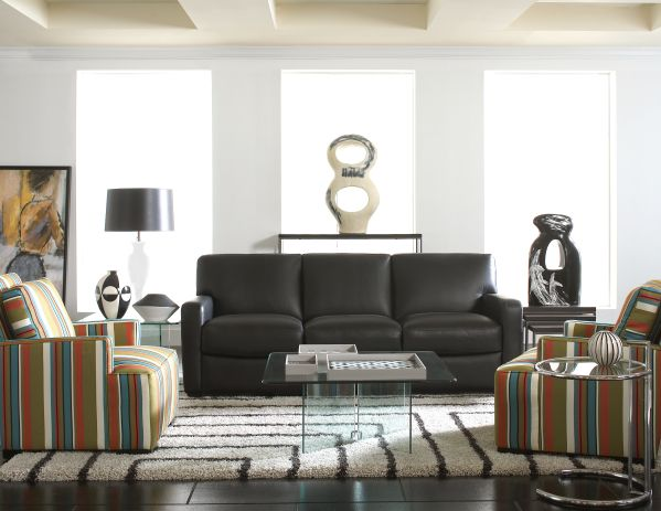 Quentin Sofa with Ace Accent Chair 1