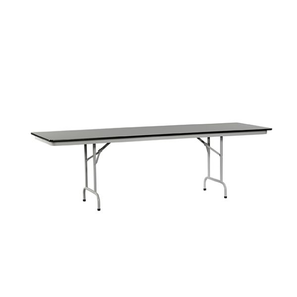 HON 8 Laminate Grey NEB Folding Table