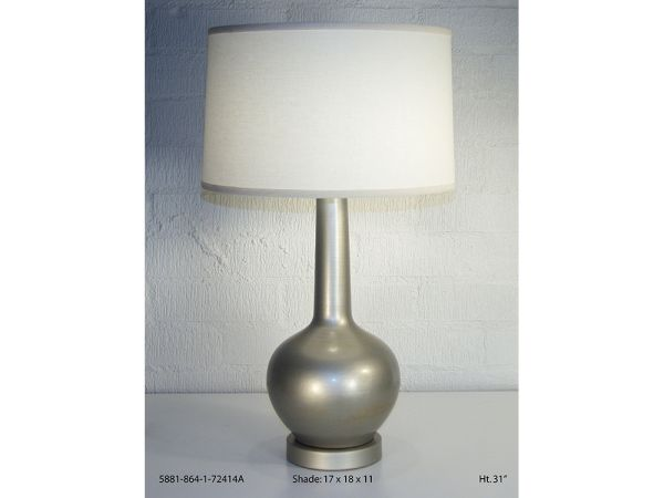 White Gold Table Lamp