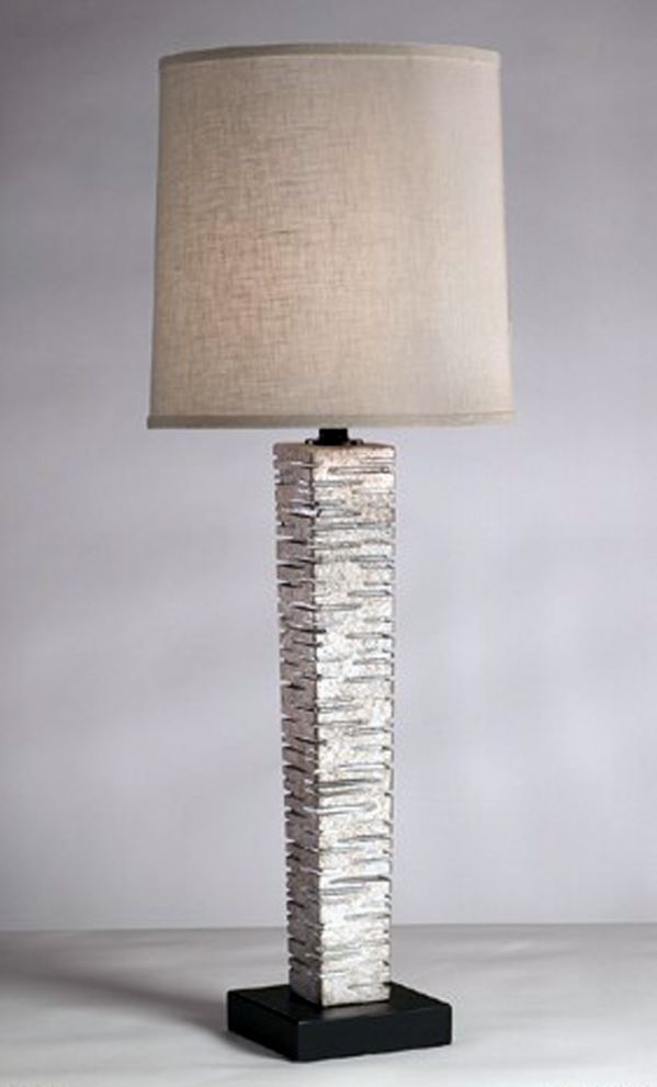 Sun Silver Table Lamp