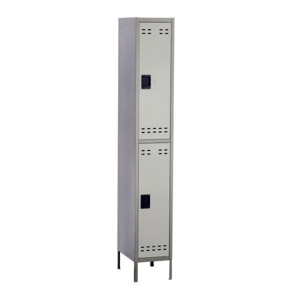 Double Tier Metal Locker Single