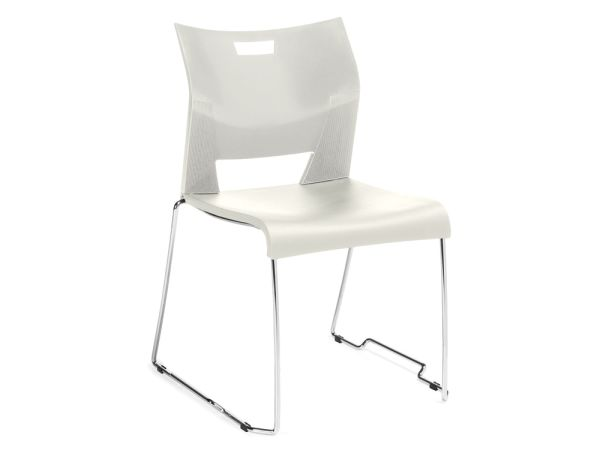 Duet Stack Chair White