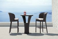 Outdoor Furniture Zanzibar Table And 2 Stools Image 14