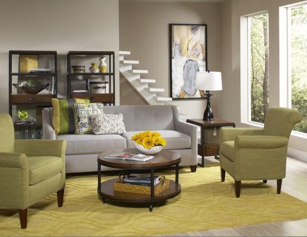 Greyson Sofa & Clover Chair 1