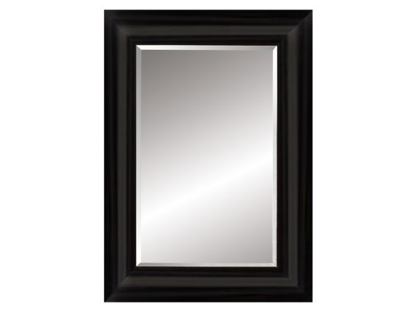 Black Rectangle Mirror