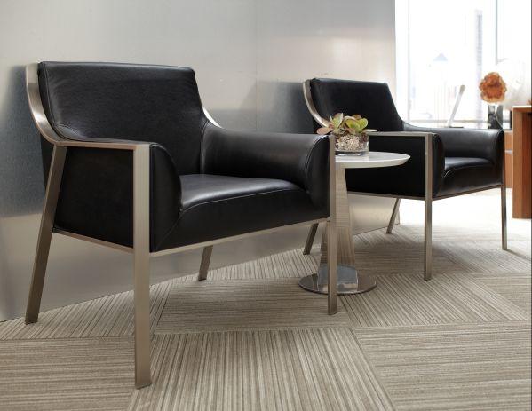 Malibu Black Accent Chair
