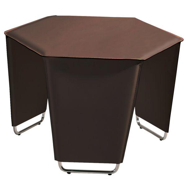 Movado Brown Cocktail Table