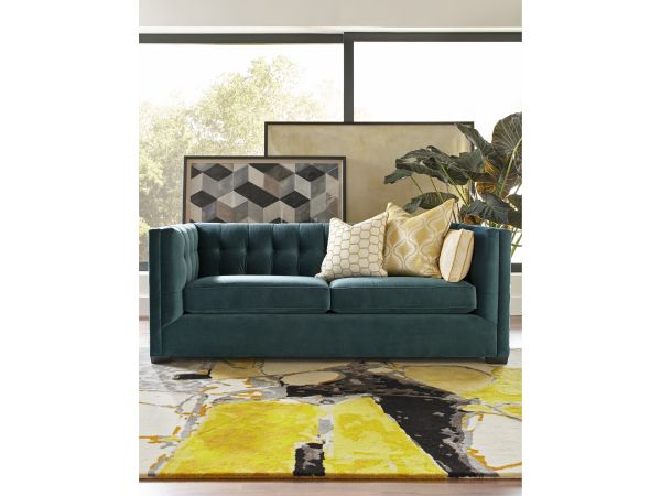 Kennedy Teal Sofa