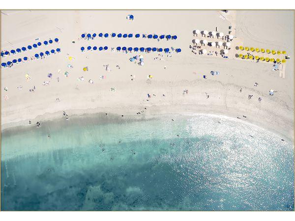 Aerial Shore Wall Art 1