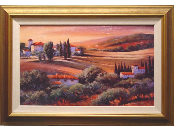 Afternoon Light in Tuscany 00023 Artwork
