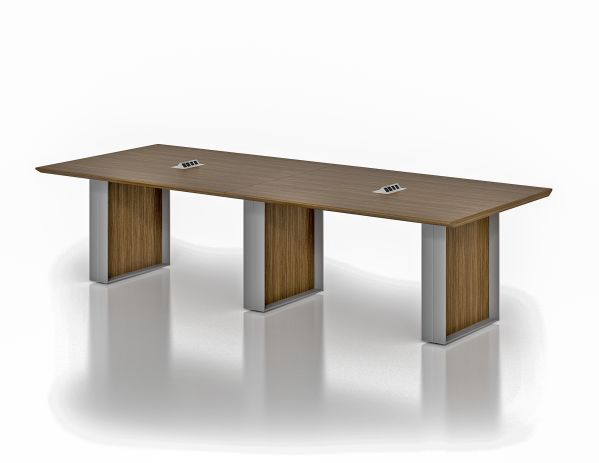 Quorum 10' Conference Table Walnut